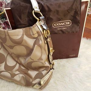 Coach C Monogram Shoulder Bag